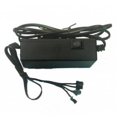 Драйвер для неона AC220V EL-220-30*4/F до 120м (4 выхода по 30м)