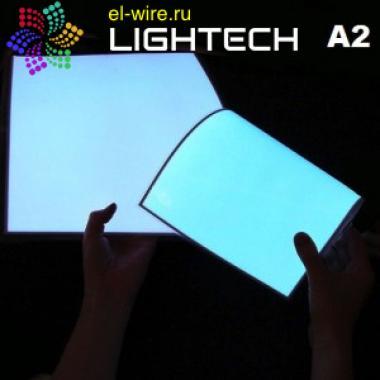 Лист электролюминесцентной световой бумаги А2 42х59,4 см
