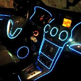 Подсветка салона автомобиля.