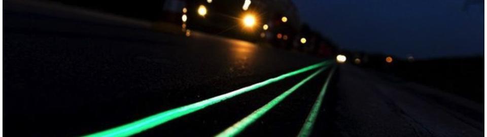 Умные дороги - подсветка обочины, разделительной полосы и т.д.